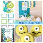 How to Plan a Monster's Inc Party