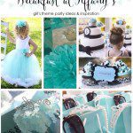 Breakfast at Tiffany's- Posh Girl's Birthday Party Ideas