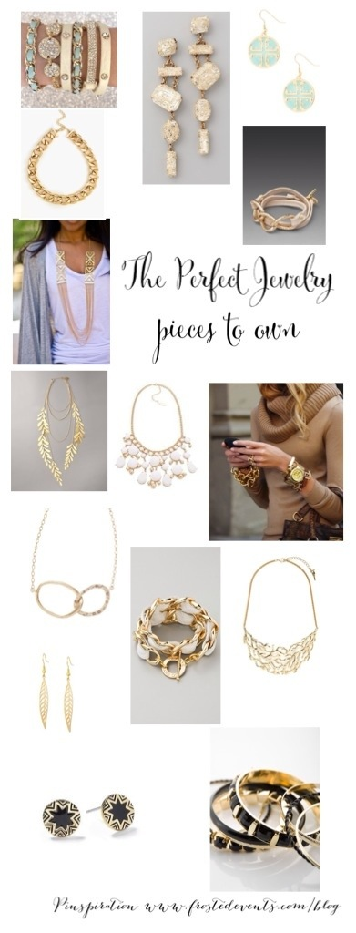 The Perfect Jewelry Pieces to Own Inspiration Board