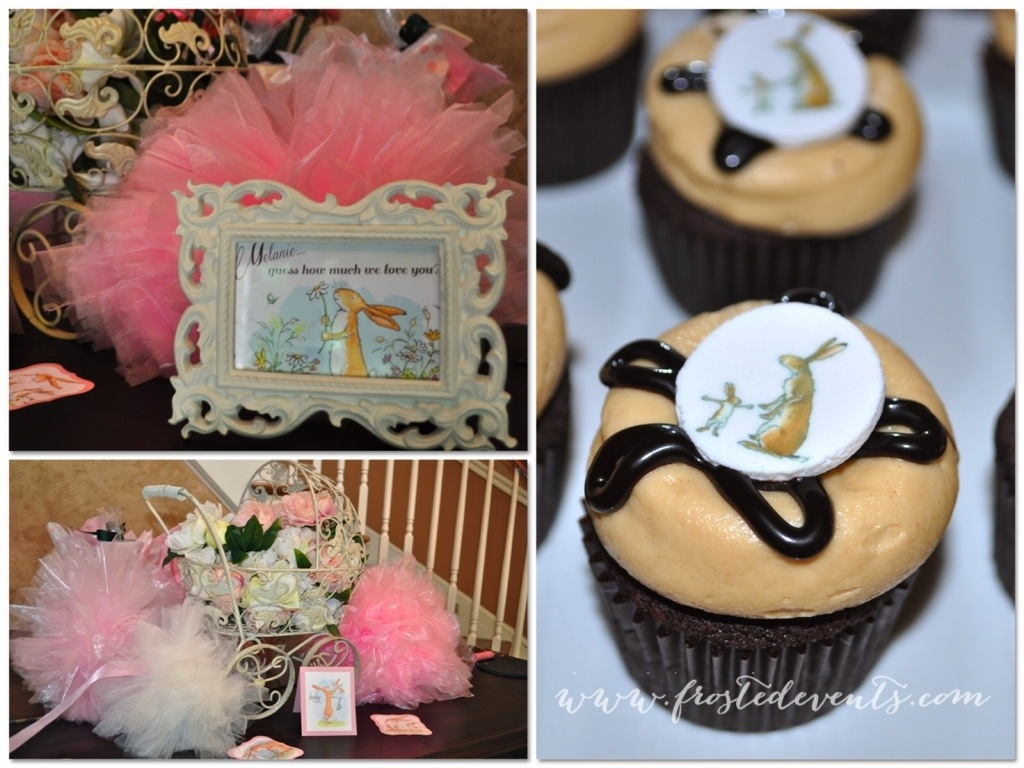 I Love You to the Moon and Back Sweet Baby Girl Baby Shower www.frostedevents.com