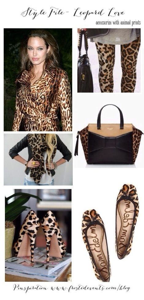 Style File -Leopard Print Love - How to Wear Animal Prints www.frostedevents.com