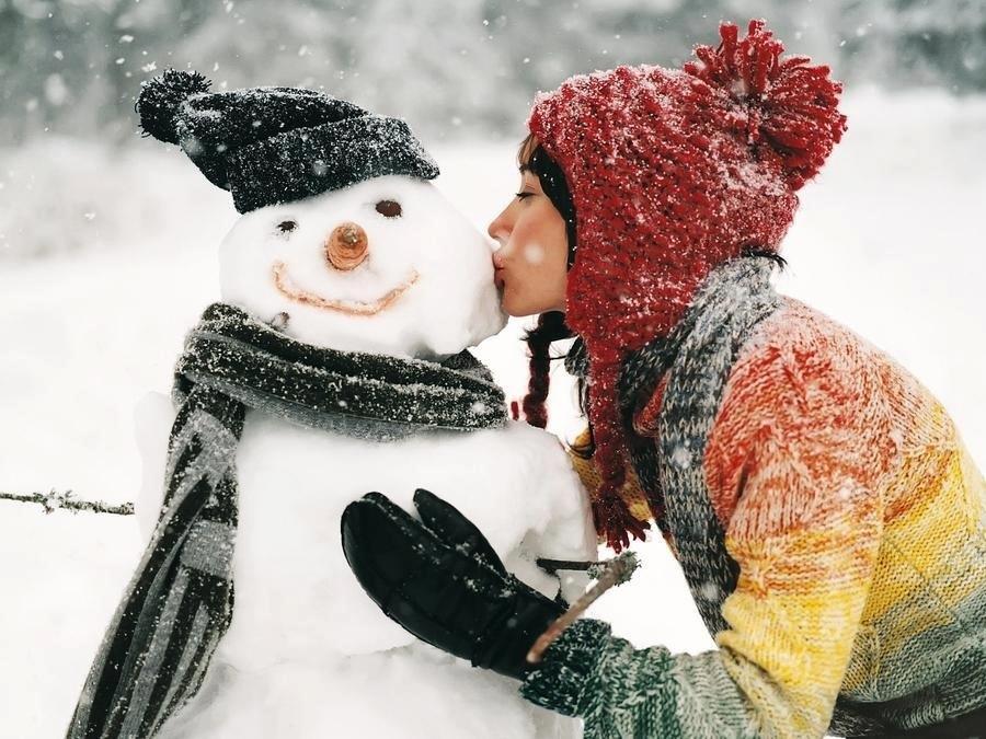 Christmas Spirit- Snowman Love