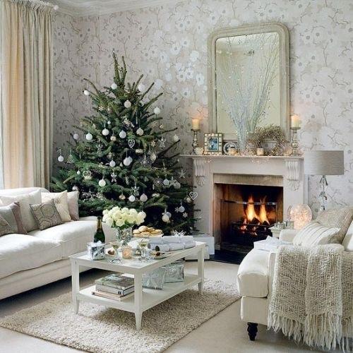 Christmas Magic- Classic Christmas Trees- White Christmas