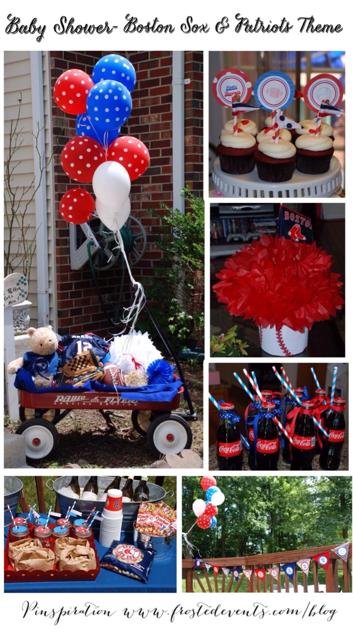Sports Theme Baby Shower by Frosted Events Boston Red Sox Party Ideas and Inspiration frostedevents.com