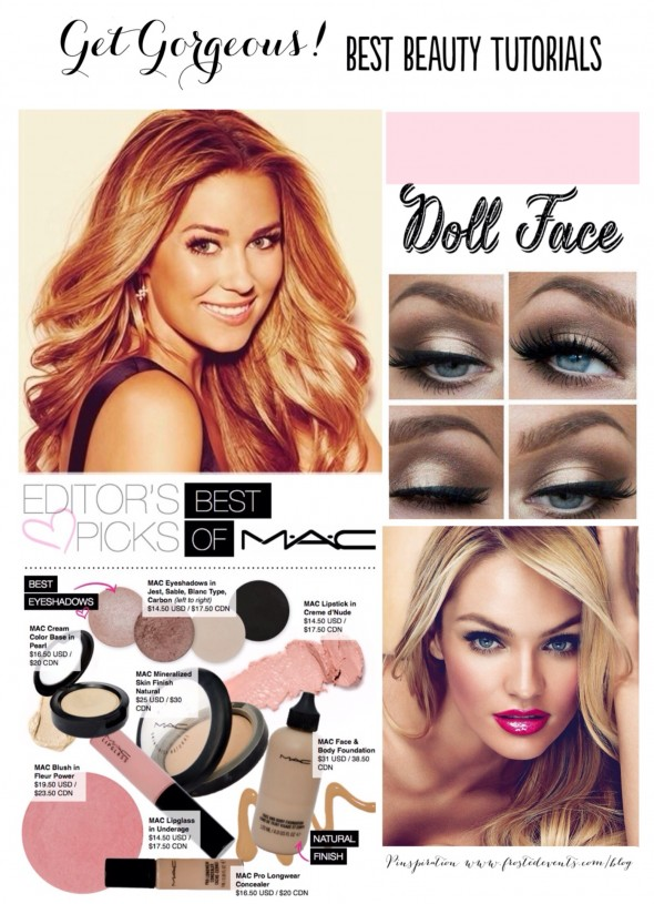 Get Gorgeous! Best Beauty Tutorials and Hair How-Tos- www.frostedevents.com
