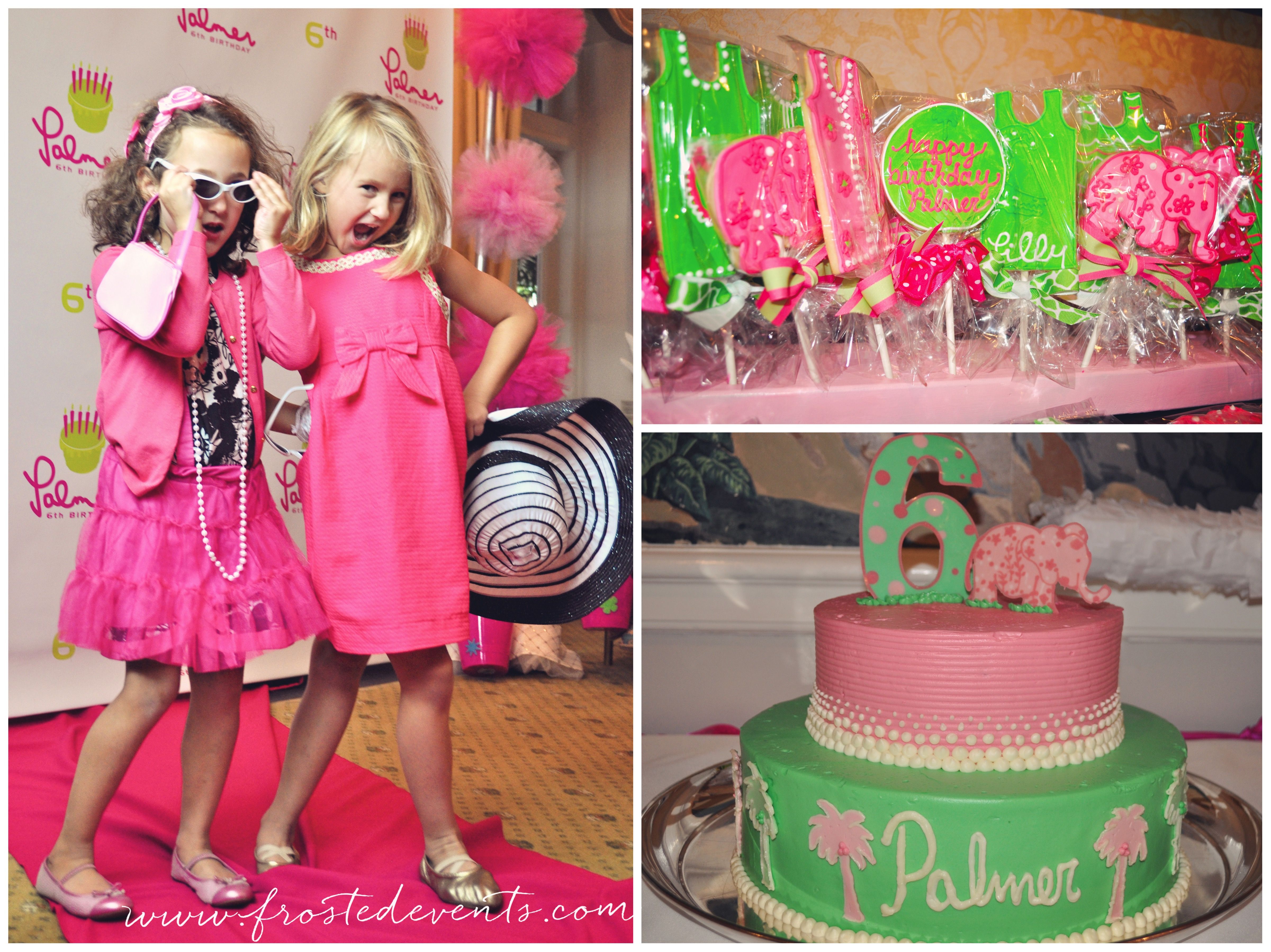 Lilly Pulitzer Party Theme by Frosted Events www.frostedevents.com
