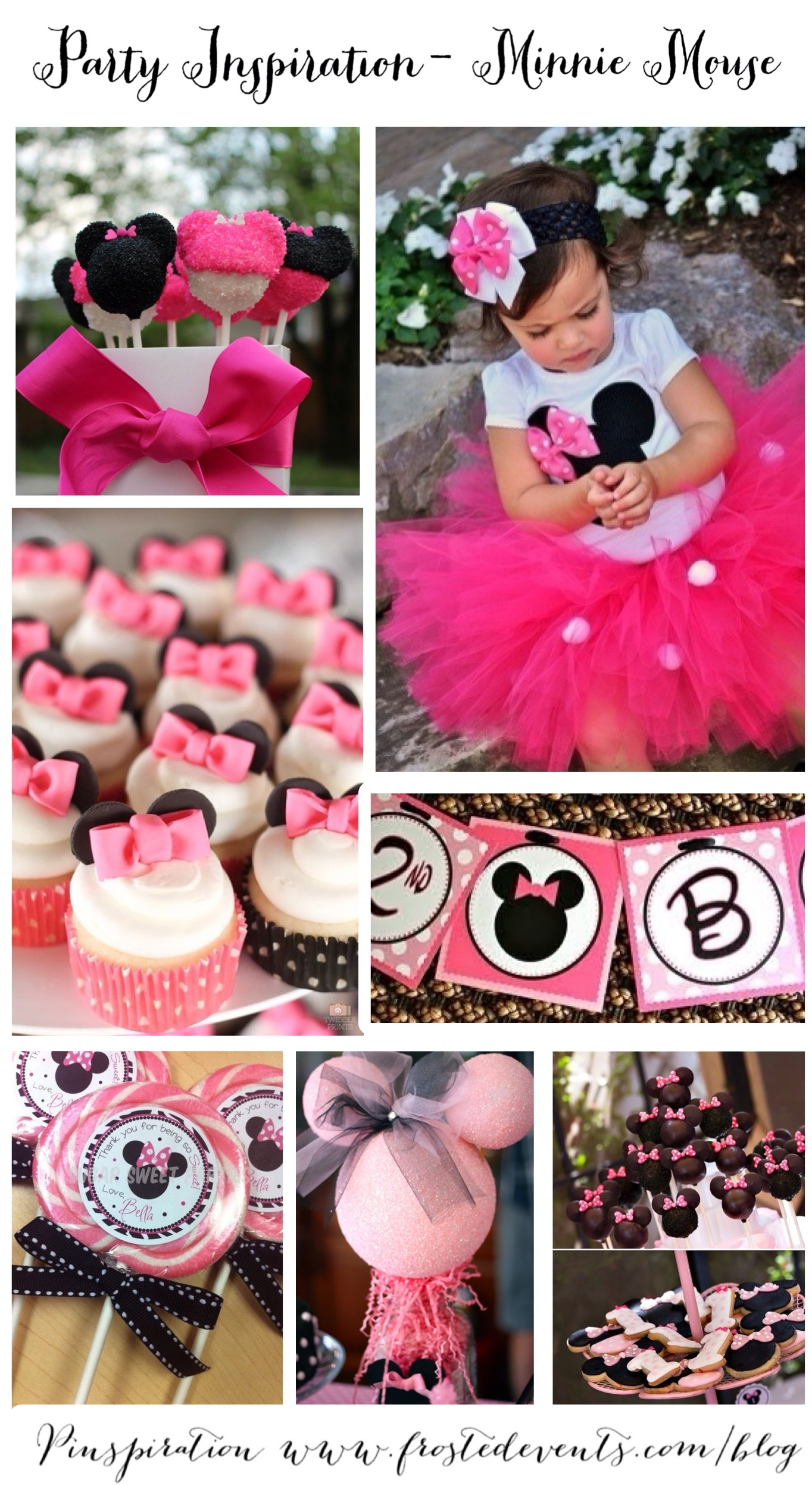 Minnie Mouse Birthday Party Ideas & Inspiration Party Planner Guide www.frostedevents.com