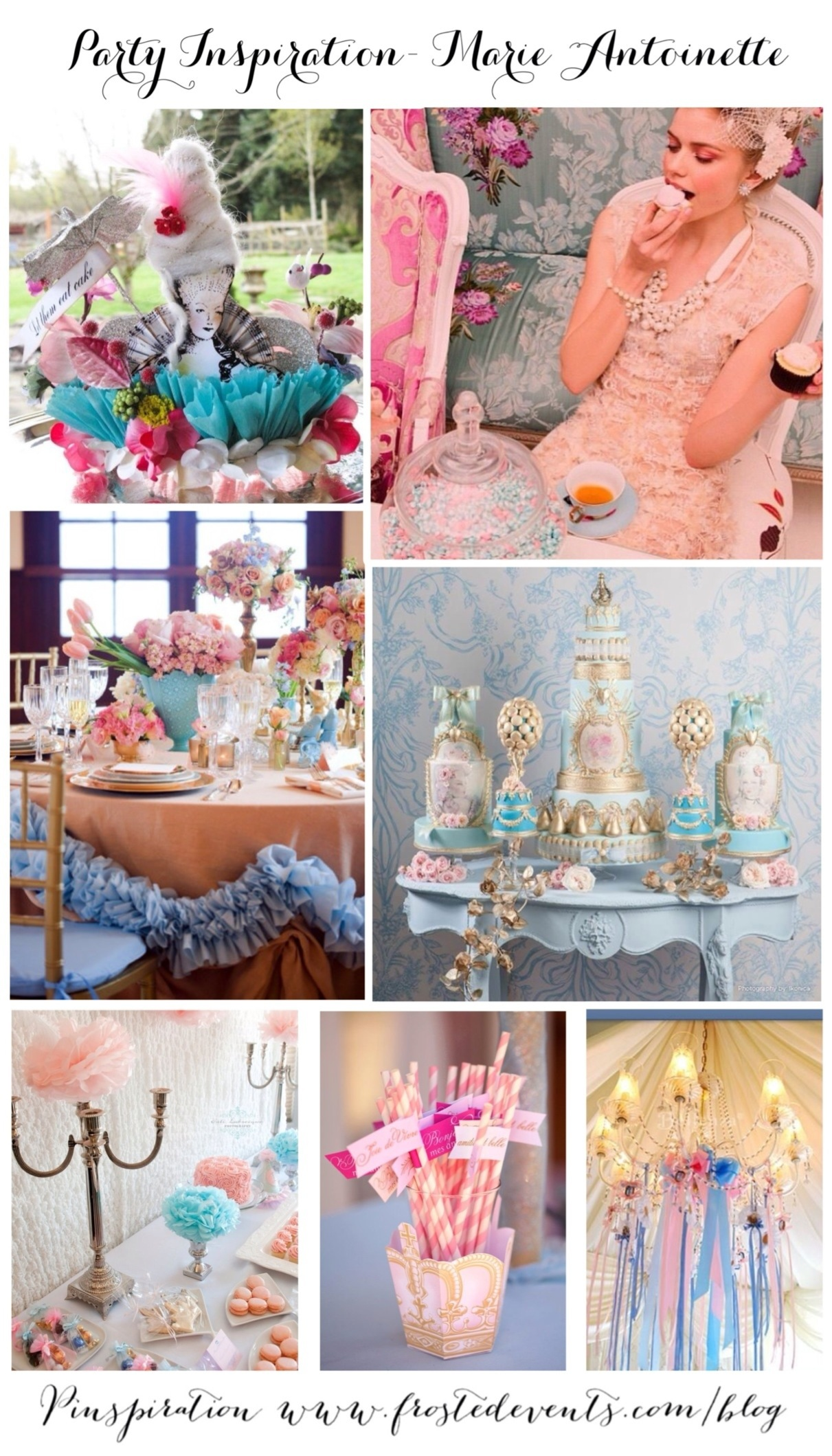 Marie Antoinette Theme Party Ideas & Inspiration www.frostedevents.com