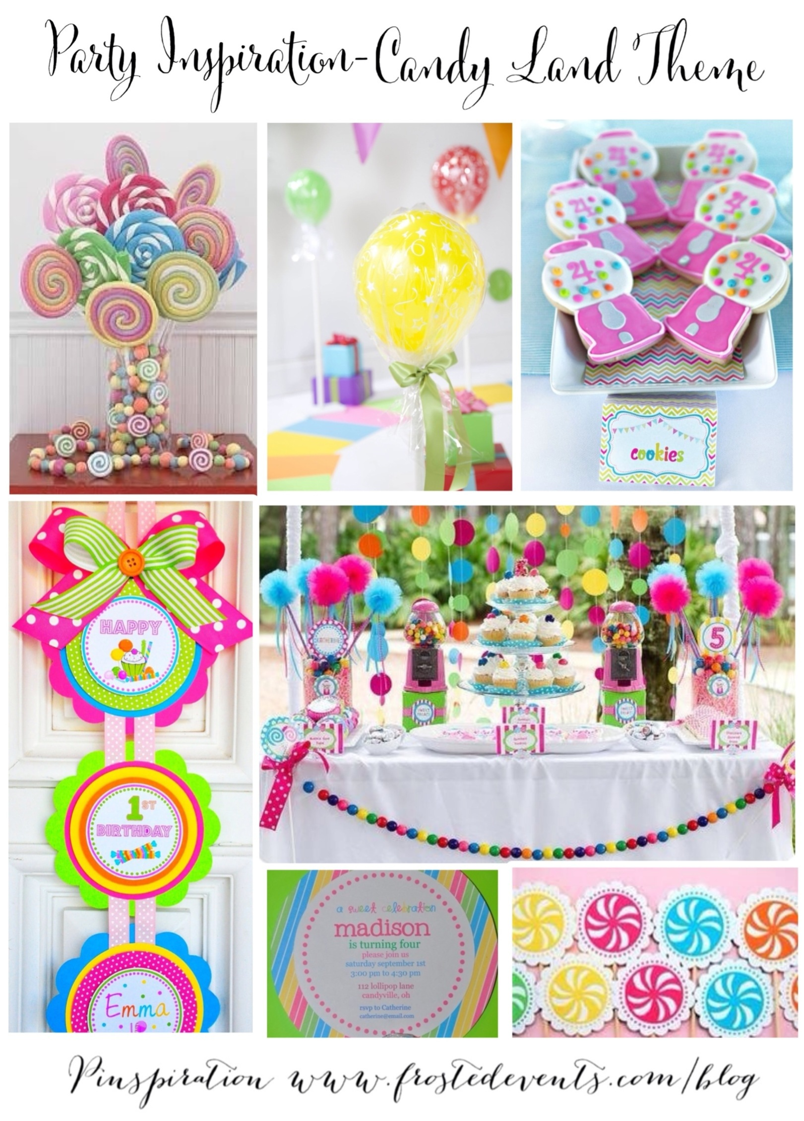 Party Inspiration Candy Land Theme