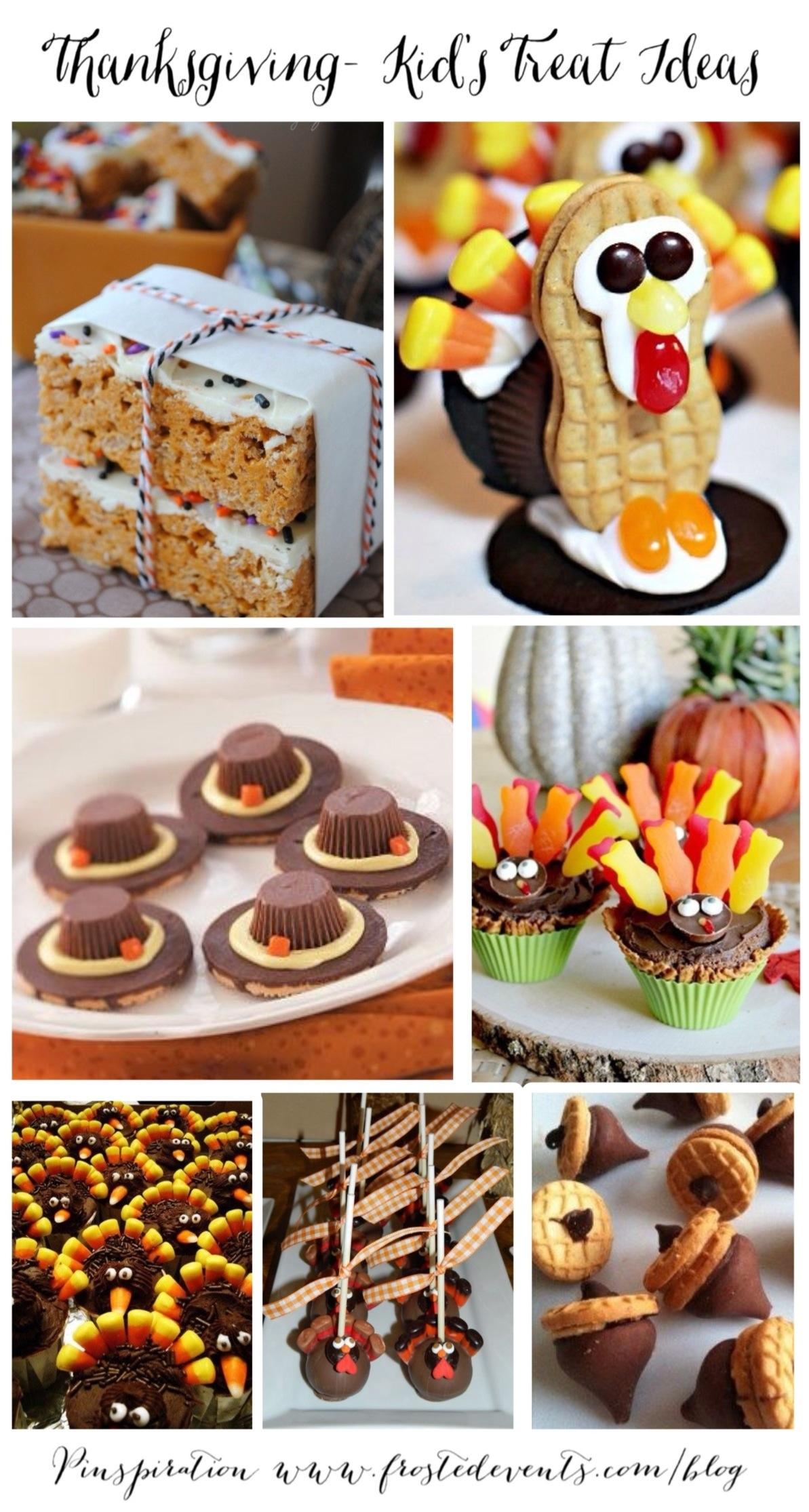 Thanksgiving Kids Treat Ideas www.frostedevents.com Recipes, Ideas & Inspiration