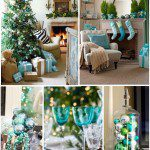 Christmas Inspiration- Turquoise & Evergreen