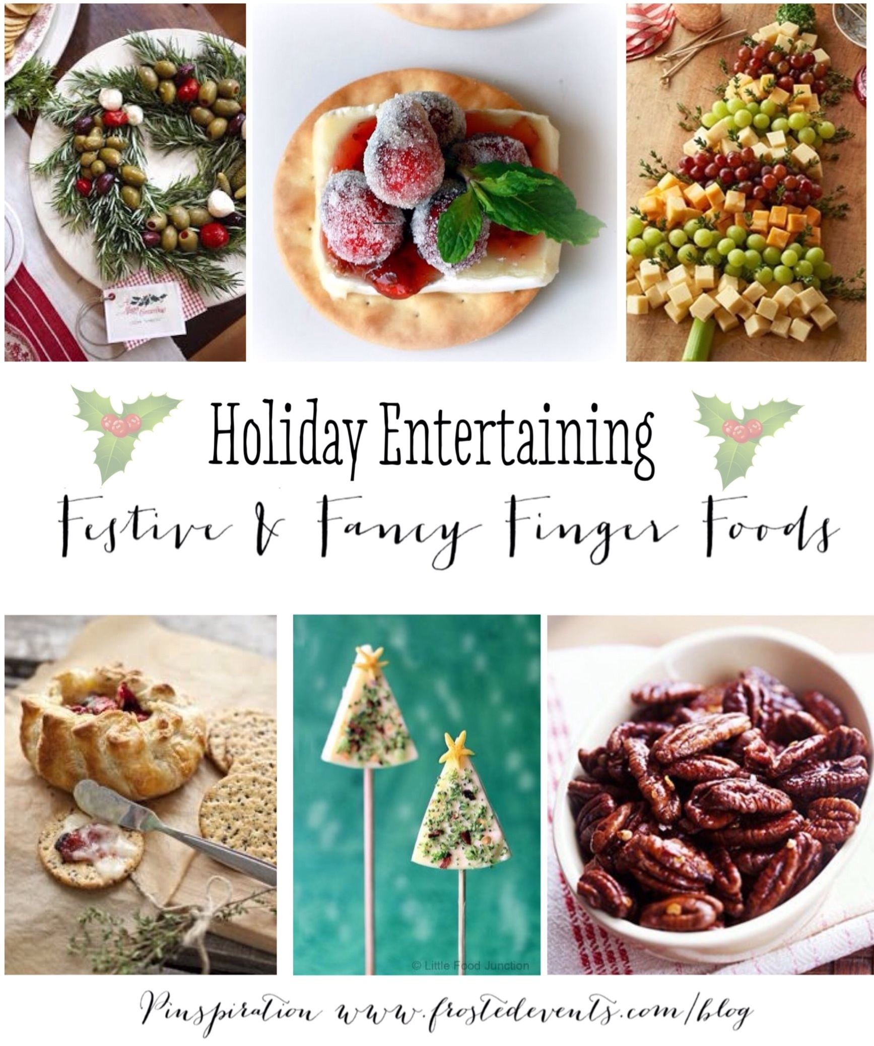 Holiday Entertaining Party Food