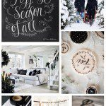 Holiday Inspiration- Black & White