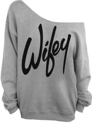 Wifey off shoulder tee- Bride to be top