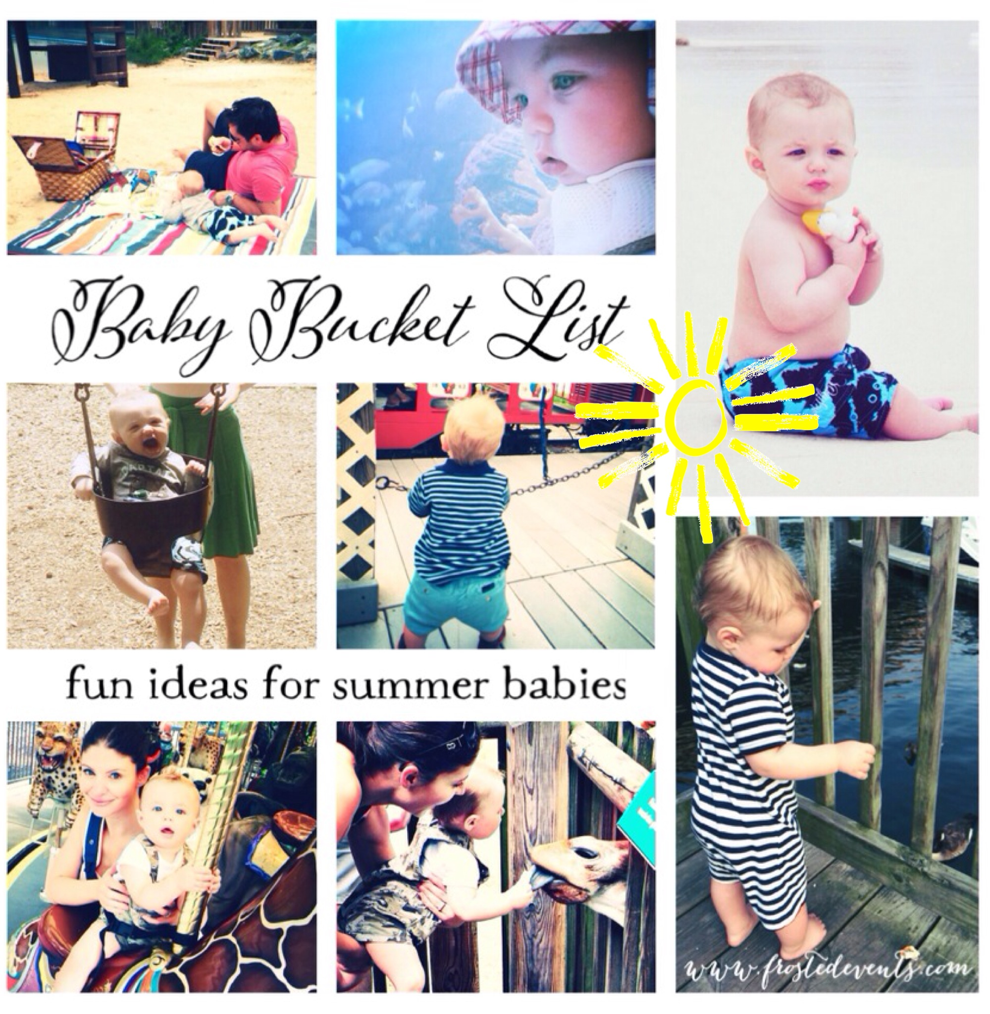 Baby activities - Baby Bucket List - Fun Things to do with Baby