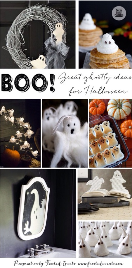 Boo! Haunting Halloween Ghost Inspiration