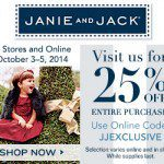 janie-jack-fall-2014-friends-family-sale-discount-code