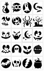 Halloween Craft Ideas- Pumpkin Carving Templates