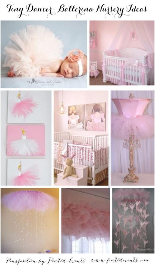 Ballerina Nursery Inspiration Ideas