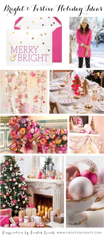 Bright and Festive Holiday Ideas- Frosted Events