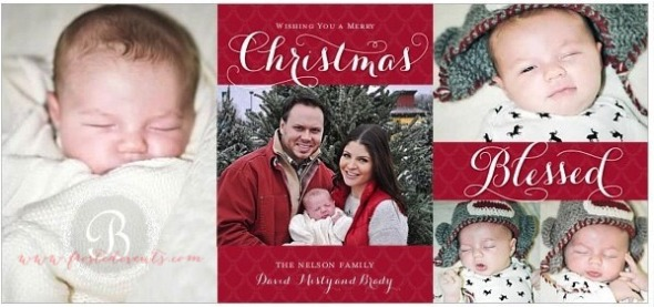 Christmas Card 2013 Design www.frostedevents.com