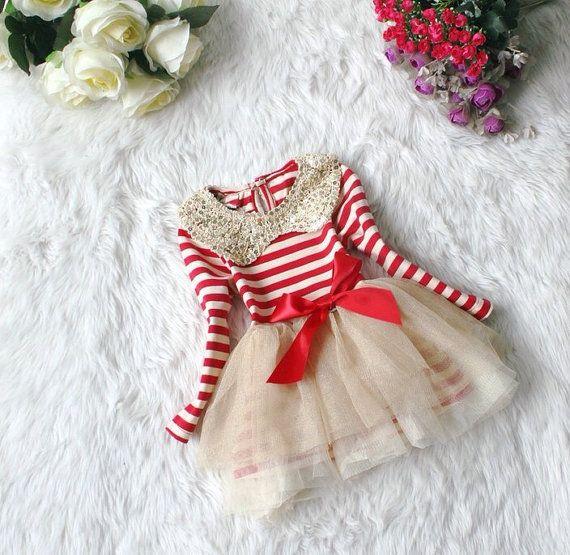 prettiest-girls-christmas dress