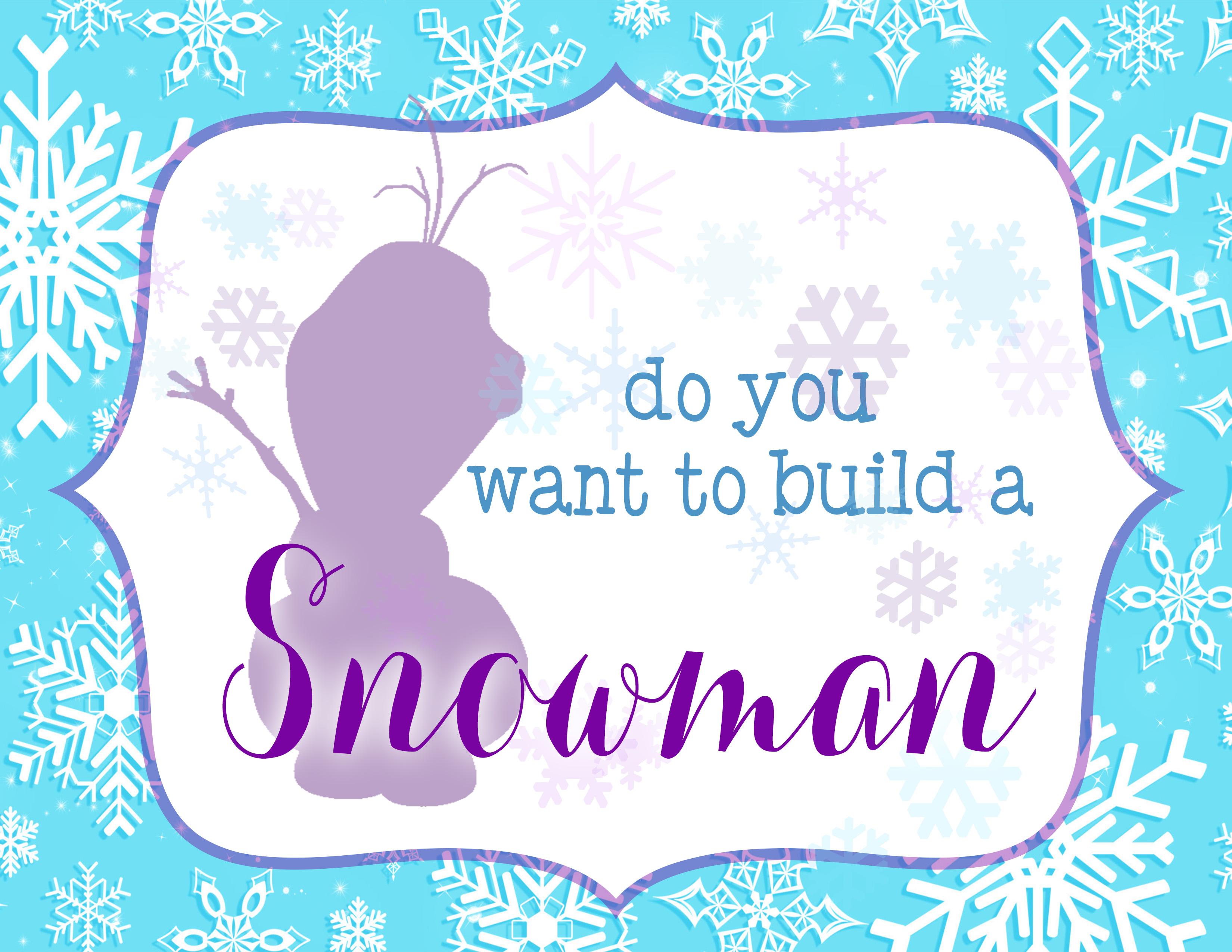 - Fabulous Frozen Theme Party With Frozen Party Printables