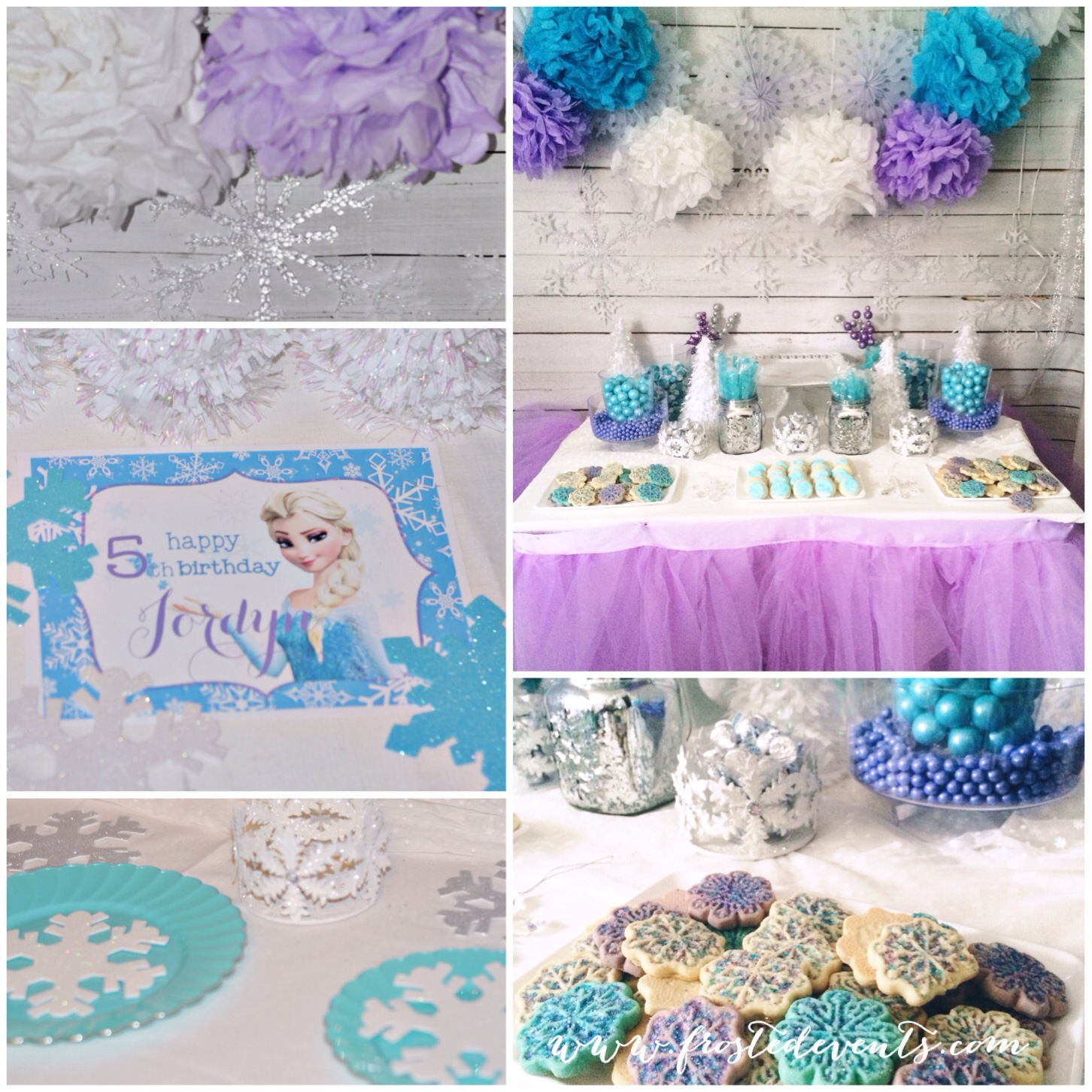 Fabulous Frozen Theme Party With Printables