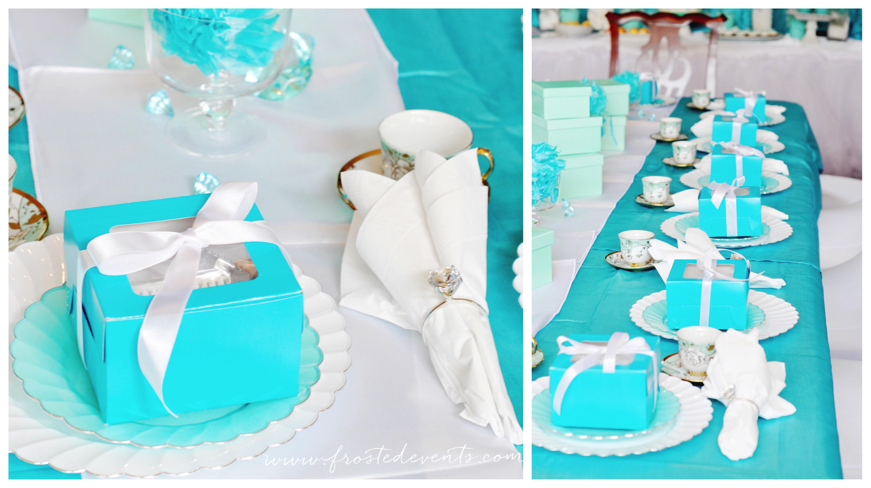 A Fancy Tiffany Tea Party