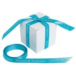 Turquoise Personalized Ribbon
