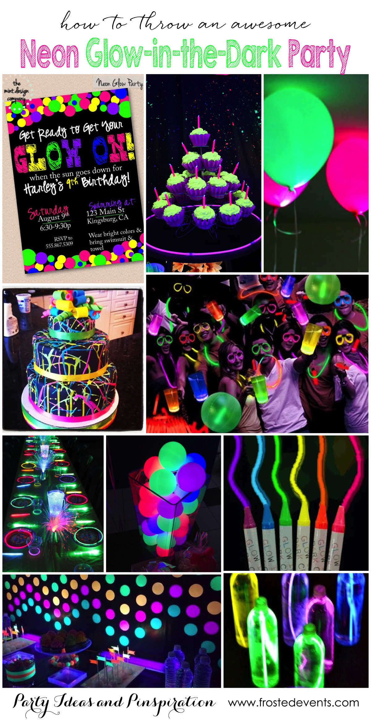 Superior Christmas Party Ideas For Teens Part - 11: Frosted Events