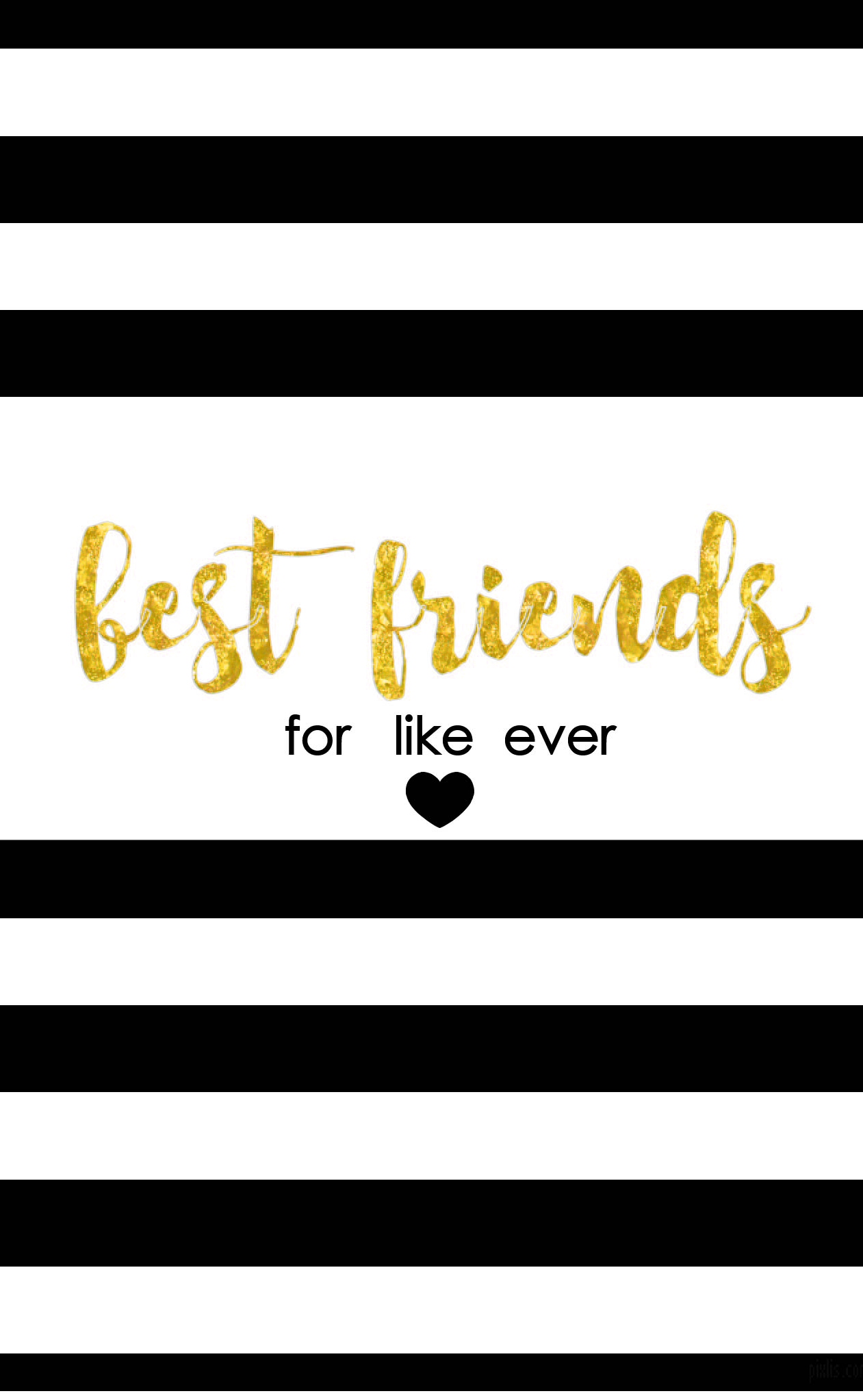 Best Friends Like For Ever Free Printable from Frosted Events | frostedevents.com