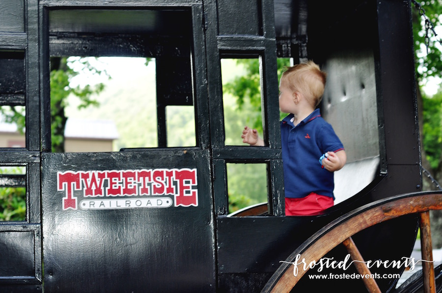 Day Out with Thomas the Train at Tweetsie Railroad NC- Frosted Events frostedevents.com