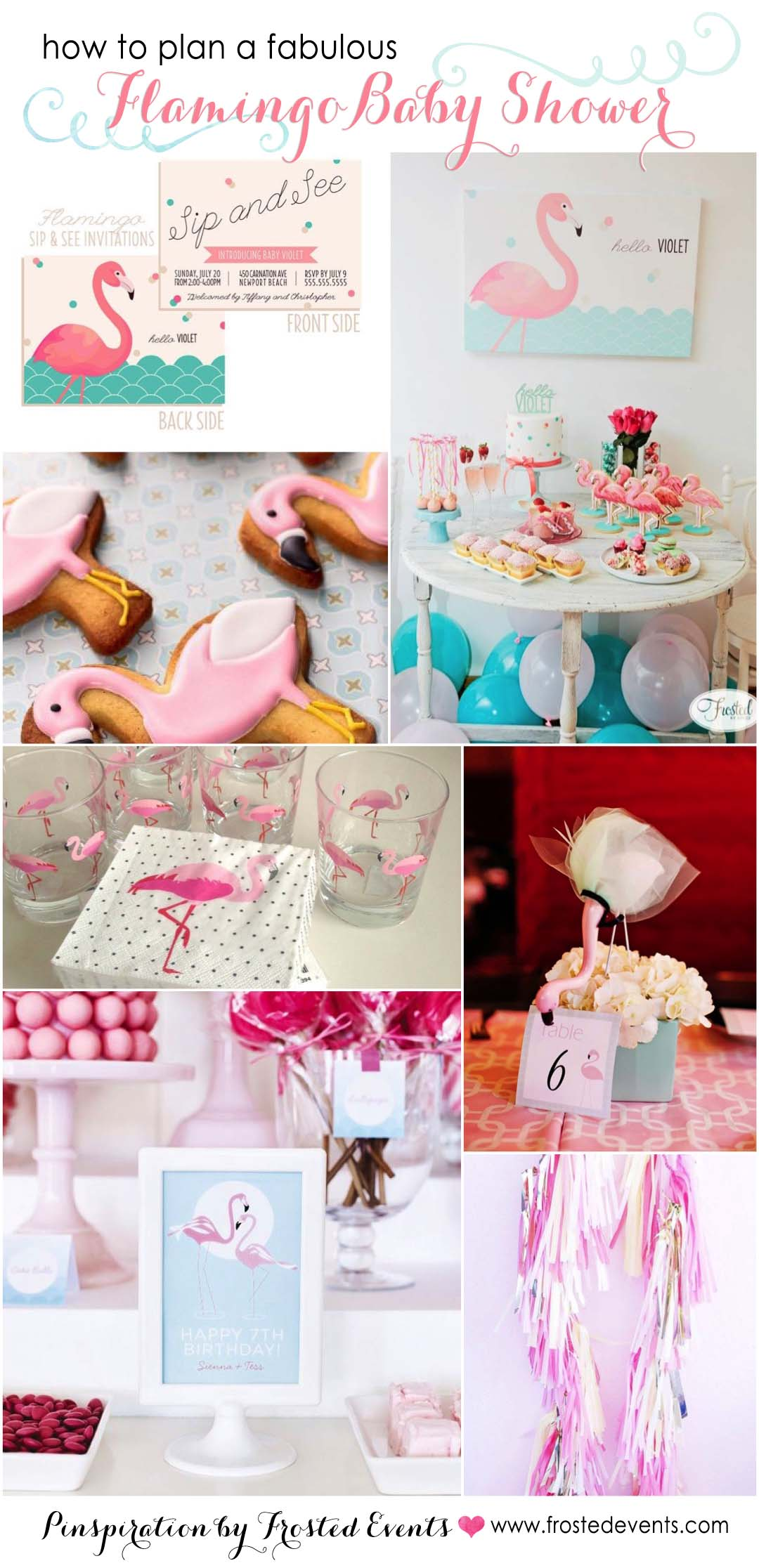 Flamingo Baby Shower Ideas and Inspiration from Frosted Events @frostedevents
