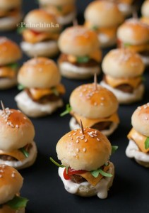 Mini Bites + Party Food Recipes Mini Bites + Party Food Recipes Mini-Burgers- Party Food Recipes and Mini Bites, Best Party Appetizers @frostedevents