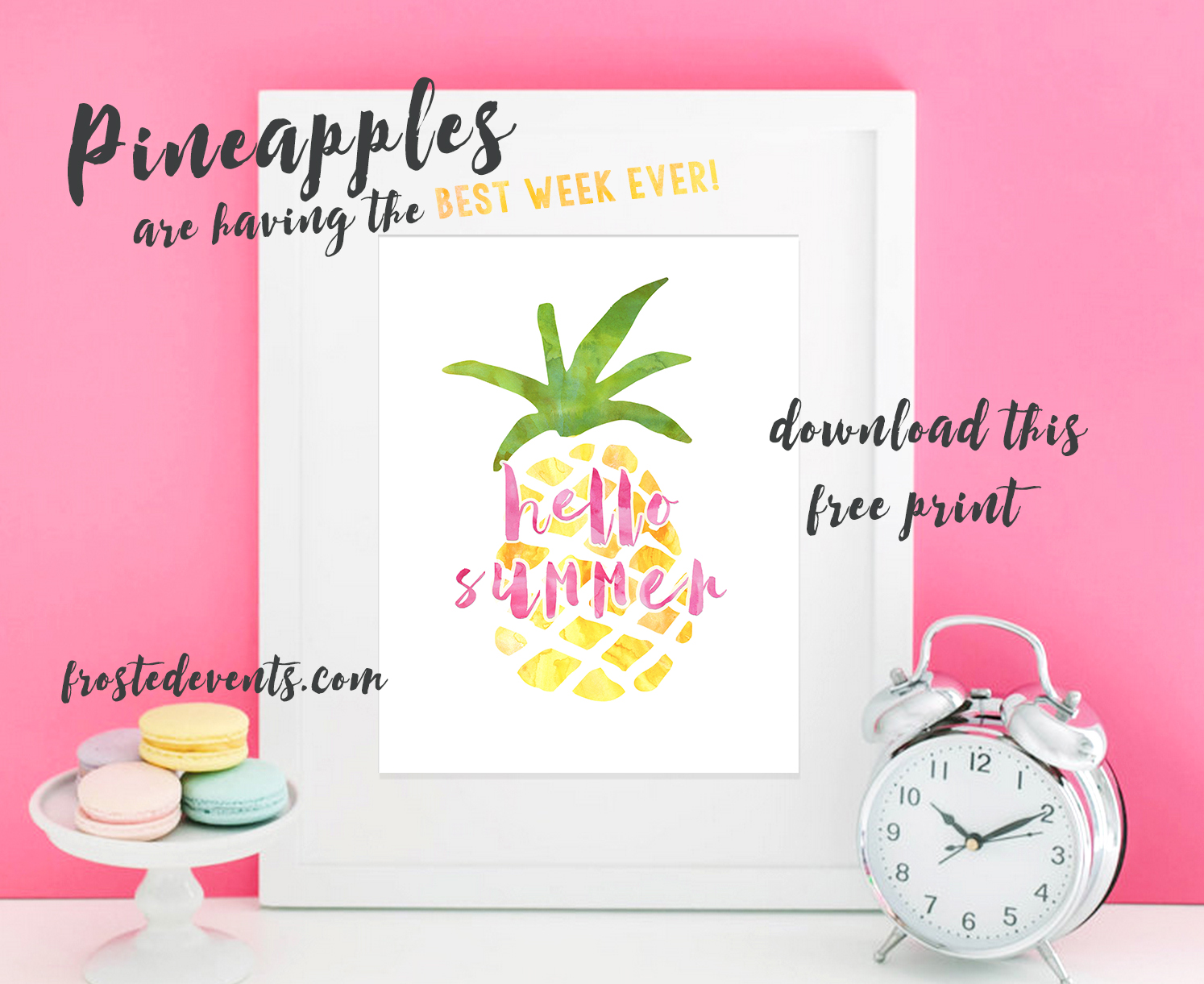 image about Free Printable Pineapple identified as Totally free Pineapple Print Adorable Printable