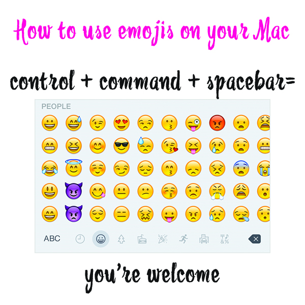 How to Make and Emoji Keyboard Pop Up on your Mac Computer