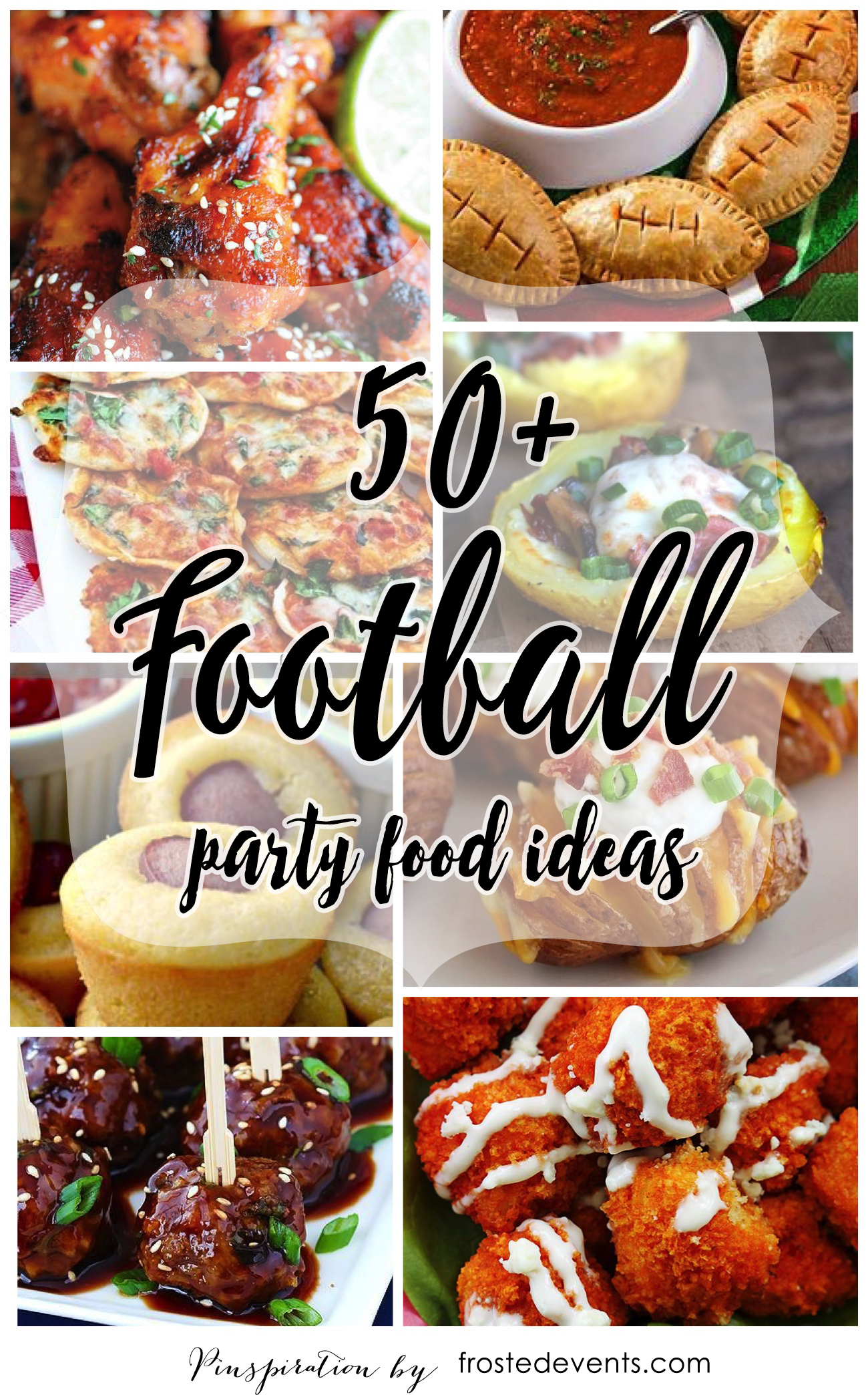 Football Party Food - Roundup of football recipes for tailgating or gameday parties. Moms, your kids will love these fun party foods.