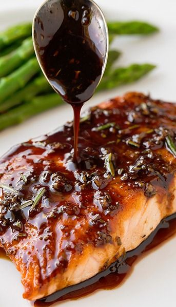 Pinterest Recipes- Weekly Meal Plan - Honey Balsamic Salmon frostedeventscom