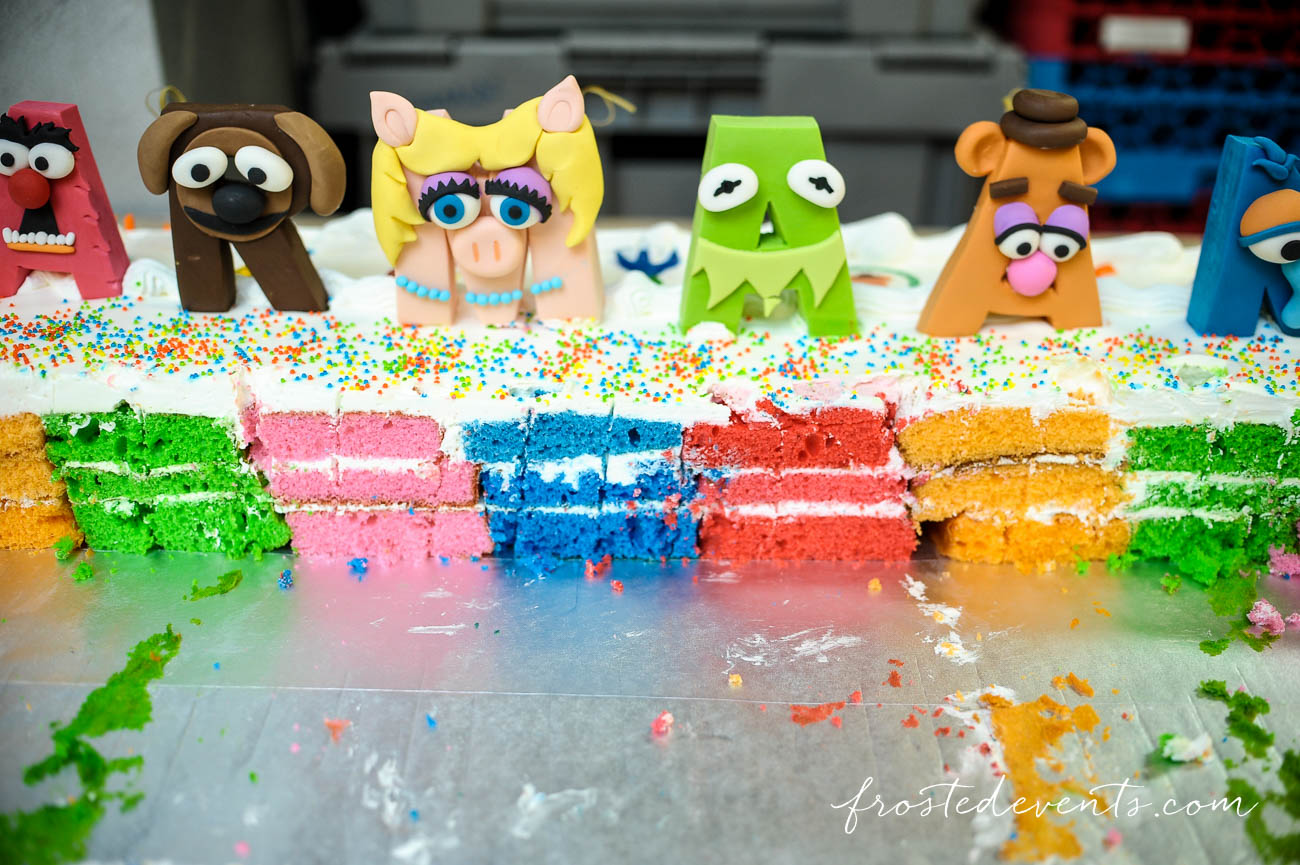 Muppets TV Show- The Muppets Show- Muppets Party Birthday - Muppets Cake #muppets muppet birthday cake