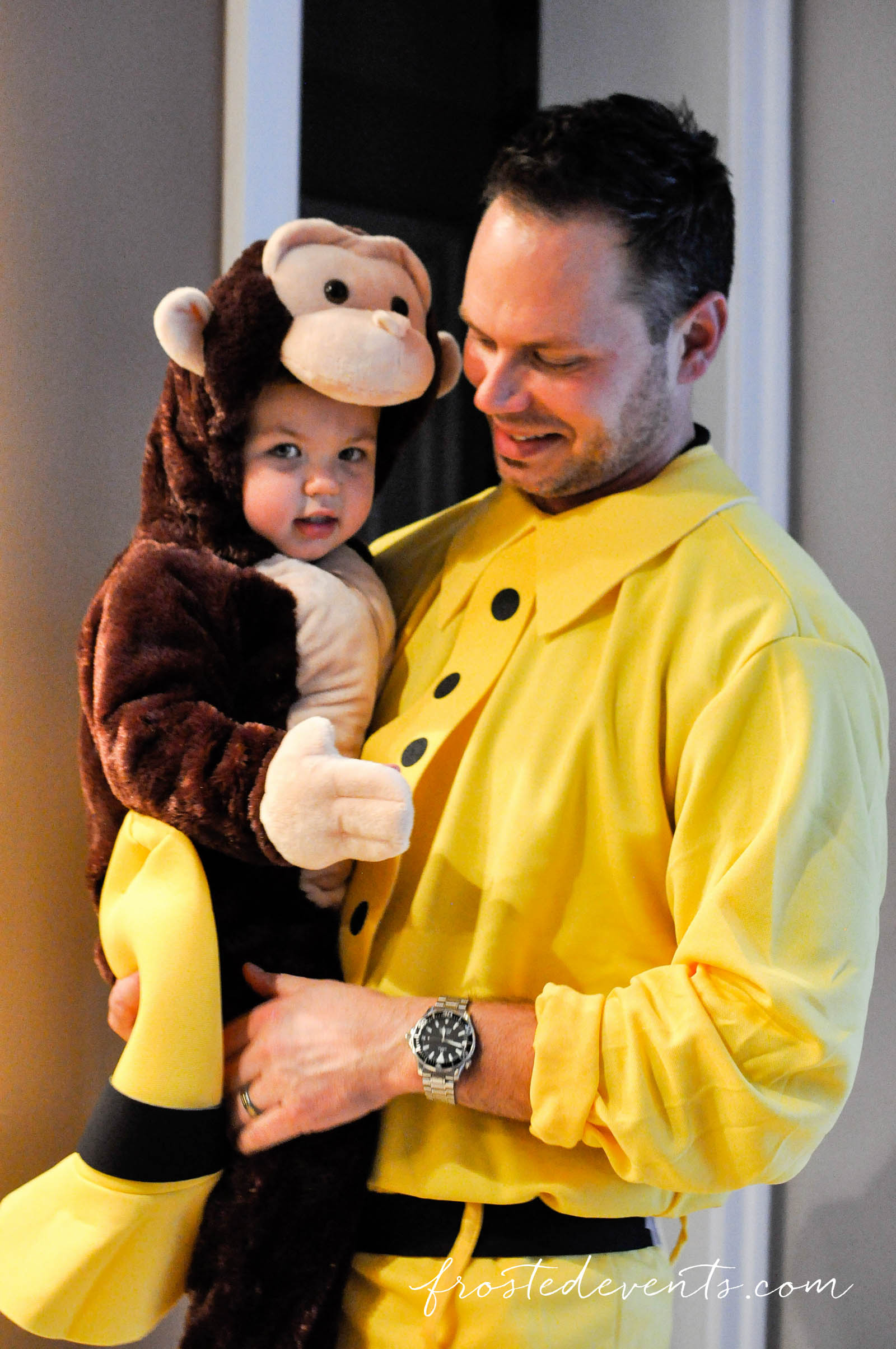 Great Costume Ideas for Families Curious George Costume frostedeventscom