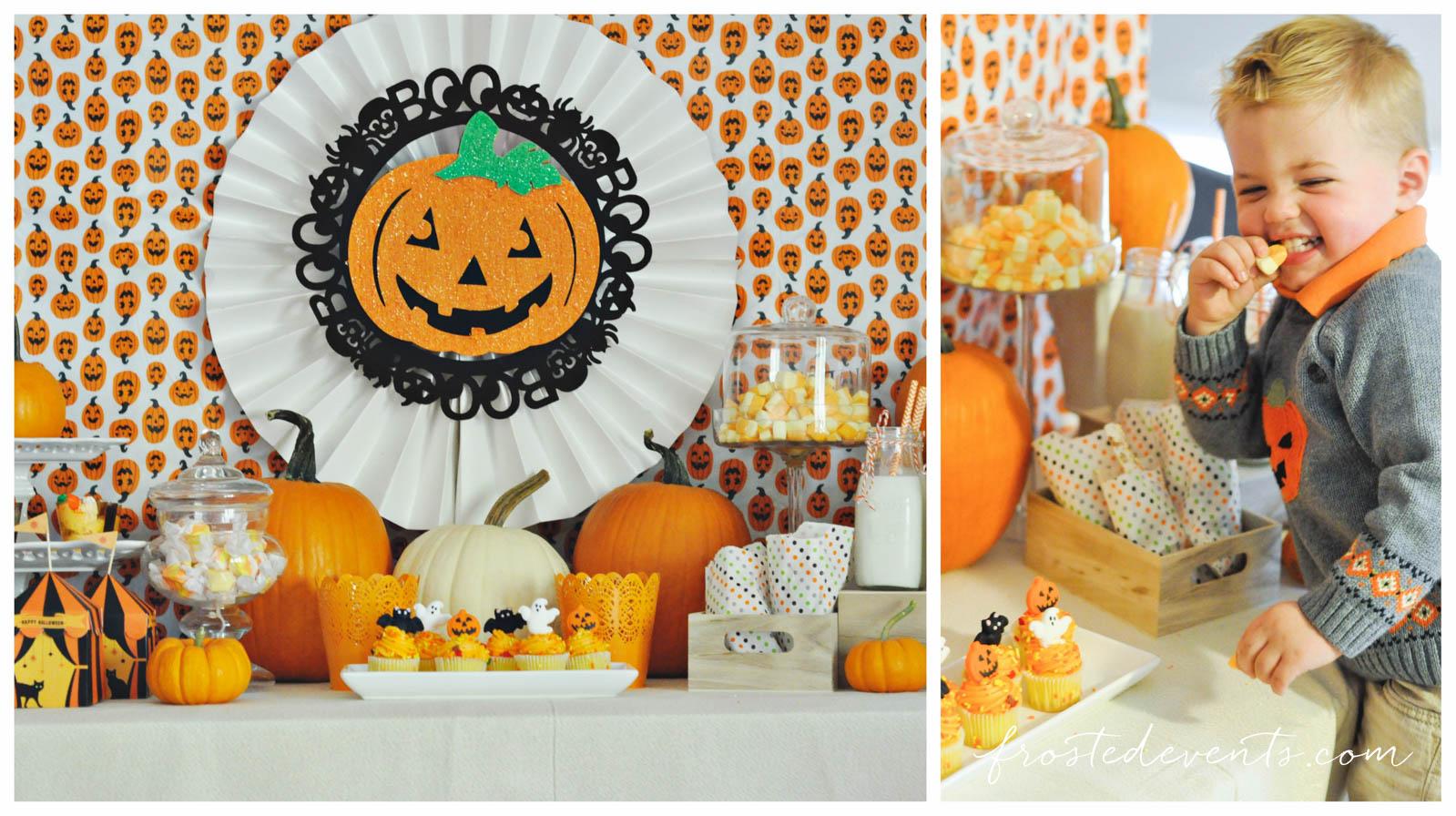 Halloween ideas for kids cute pumpkin party - Childrens halloween decorations ...