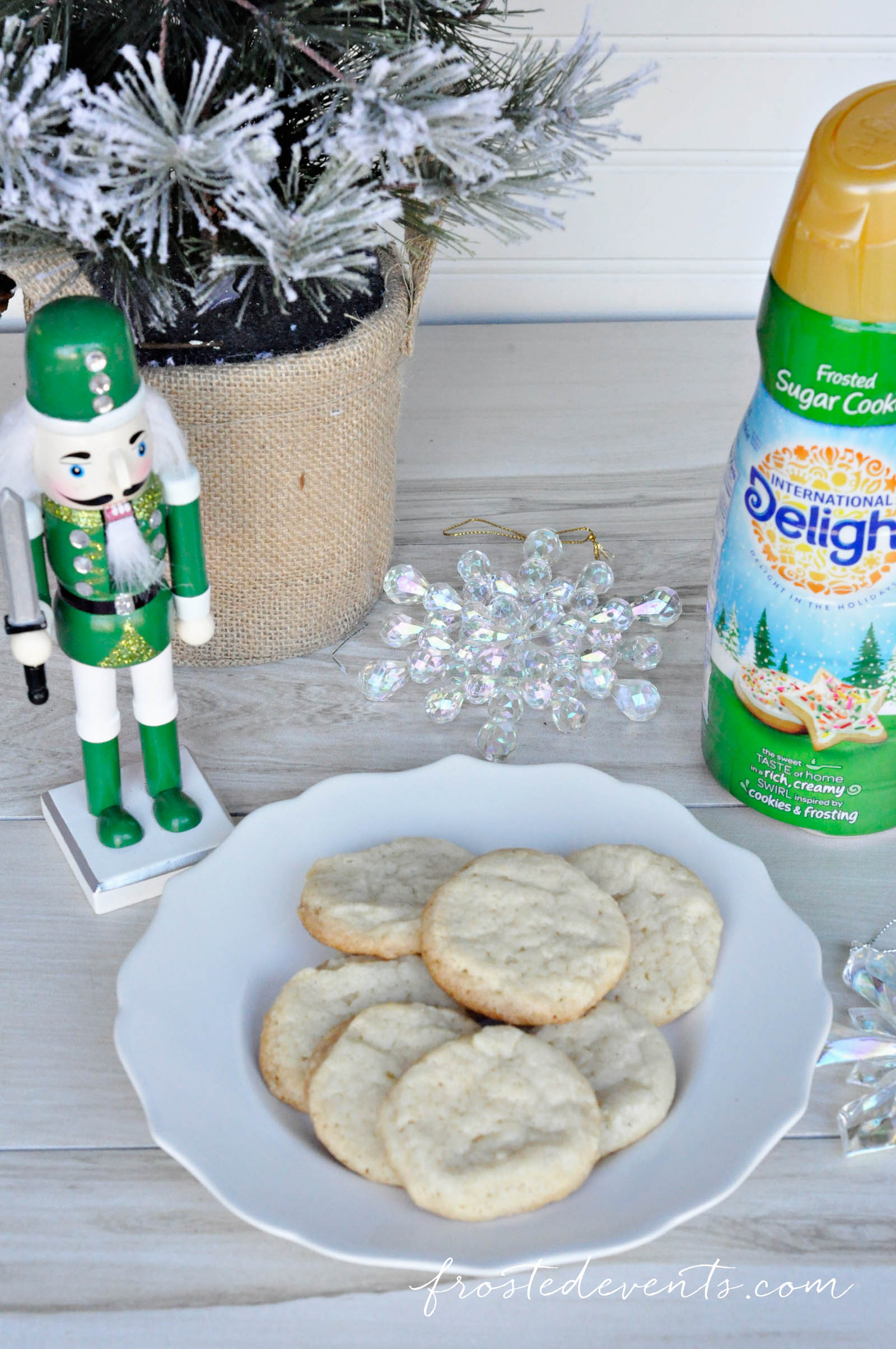 Hello Holiday Season, But First Coffee with International Delight Creamer