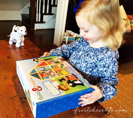 Top Toys Christmas 2015 Build & Imagine Set Stem Dollhouse frostedevents.com