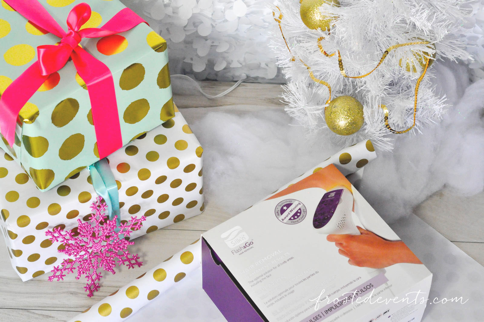 GIft Wrapping Ideas for Christmas Flash&Go Perfect Gift for Her frostedevents.com