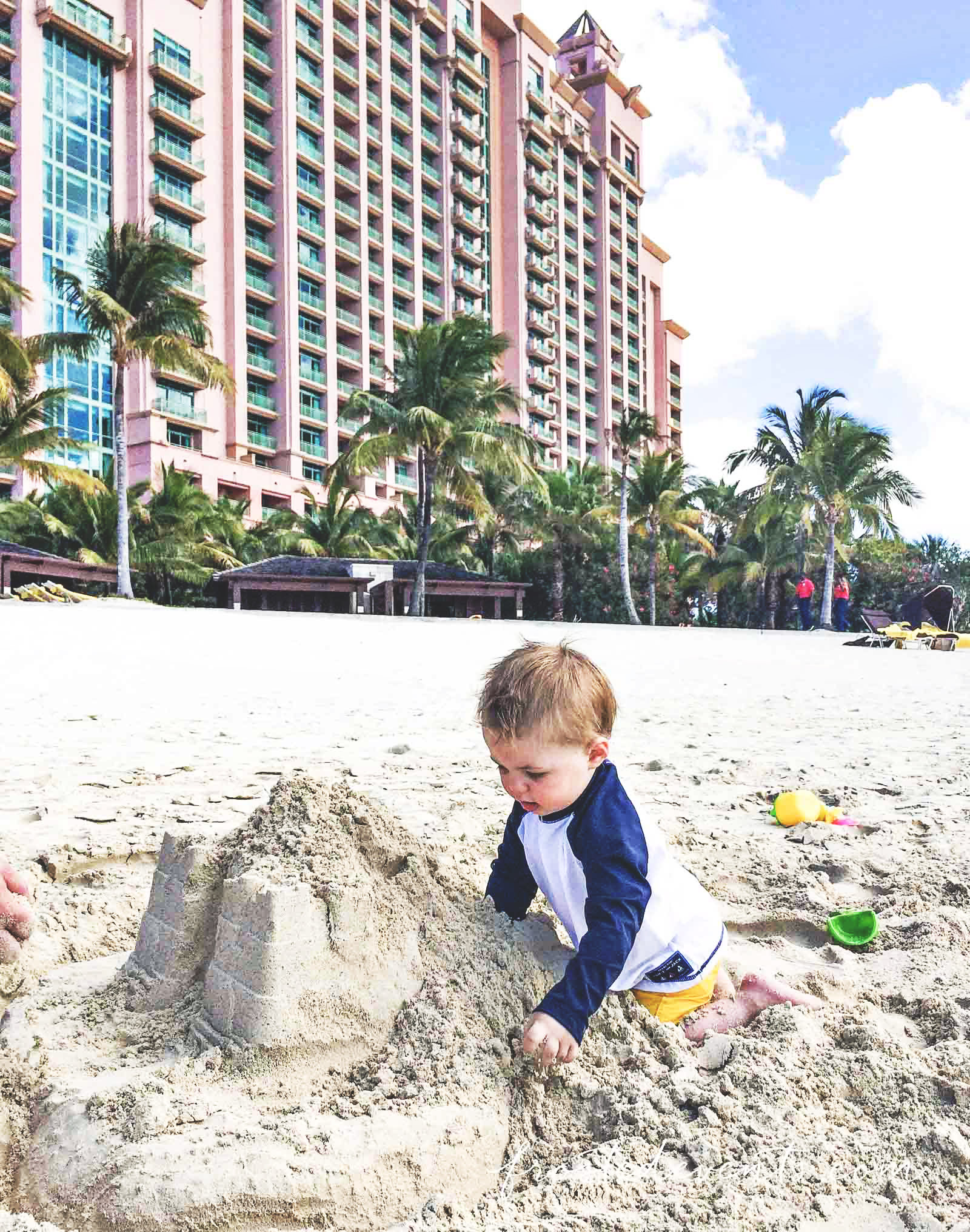 Family Travel Atlantis with Toddler the Cove Resort Paradise Island Nassau