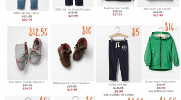 How to Score Brand Name Baby and Kids Clothes for Cheap from babyGap Janie and Jack Gymboree