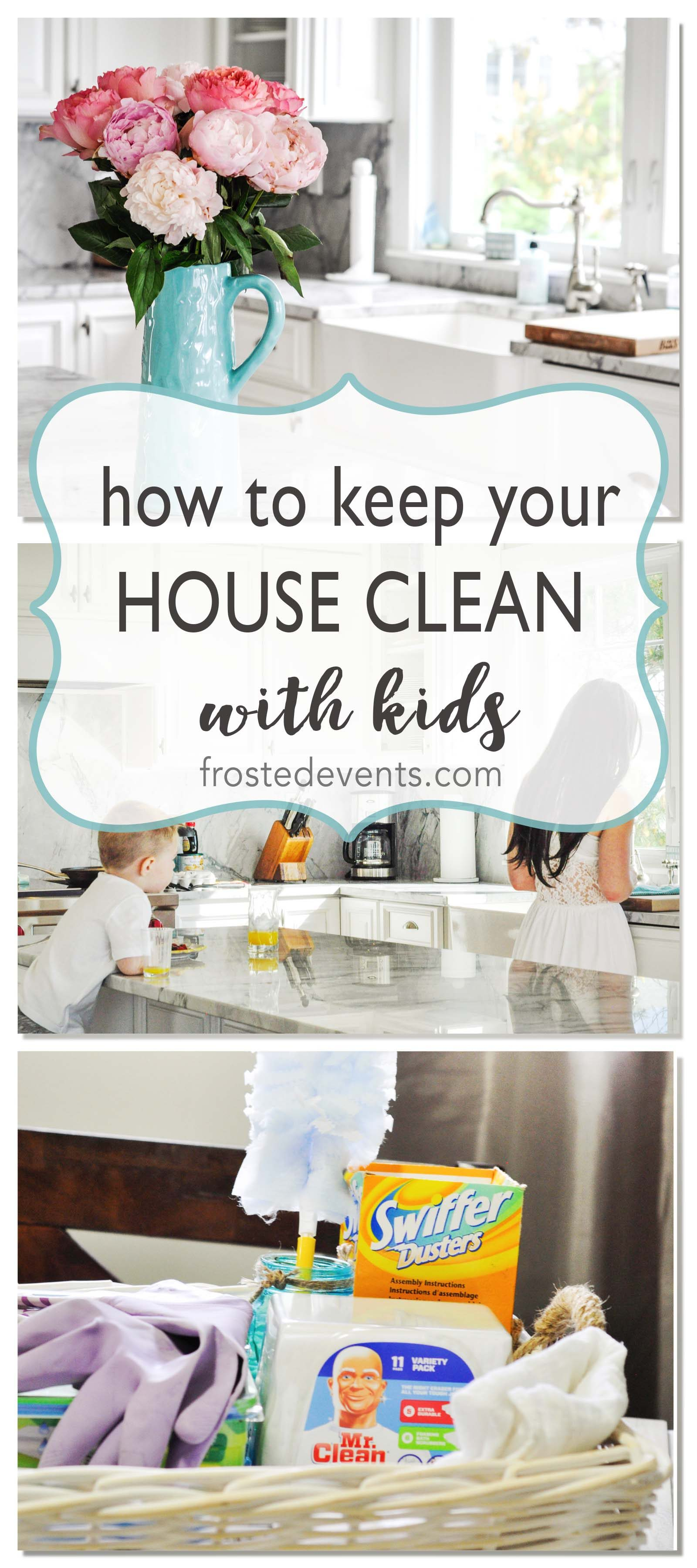 Keeping a Clean House When You Have Messy Kids List of Cleaning Supplies Mom Hacks Costco Shopping List