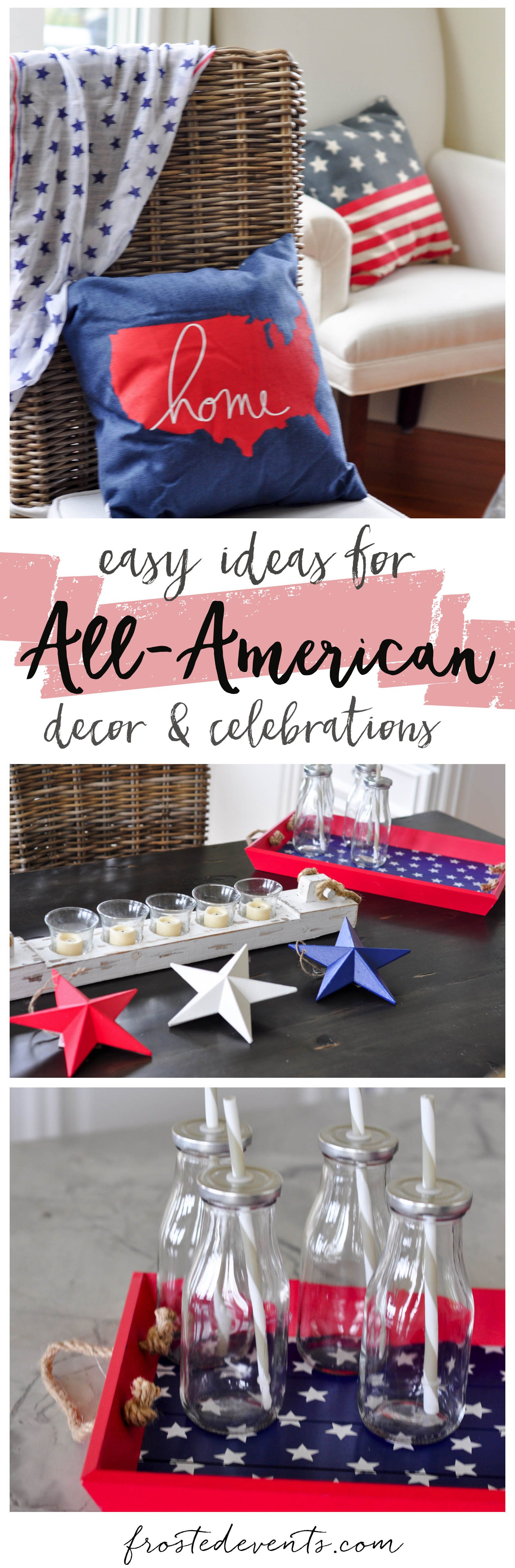Fourth of July Party Ideas and 4th of July Desserts Recipes Decorations