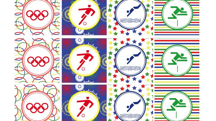 Printable Cupcake Toppers - Olympics